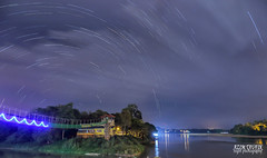 The Earth Rotates... (Azim Taufik) Tags: triggertrap starstax startrail longexposure nightphotography nightscape slowshutterspeed skyline sky flickraward rm pahang temerloh malaysia outdoor canon eos