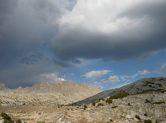 Afternoon build-up (Jeff Goddard 32) Tags: sierranevadamountains humphreysbasin northlakebackcountry highsierra inyocounty california