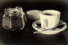 Caf (Paulo Perera) Tags: monocromo tazzina caff bevanda bianco nero