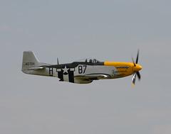 "North American P-51D Mustang ""Ferocious Frankie"" (NickS1966) Tags: nikon fighter aviation north flight airshow american duxford mustang nikkor 70300mm p51d d7100 ferociousfrankie"