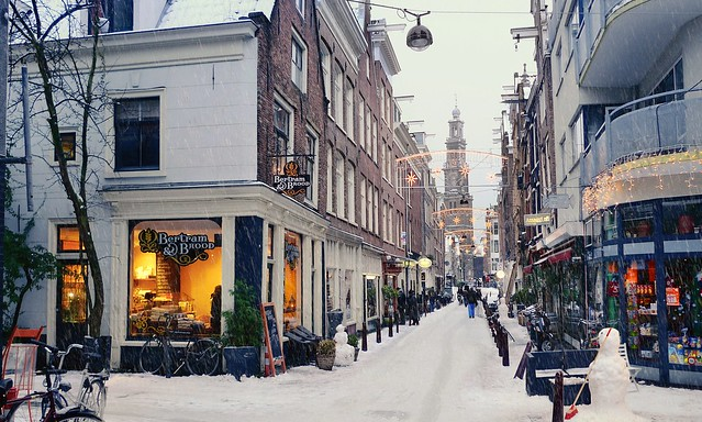 Seasons greetings from Amsterdam
