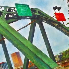 2014 Flickr Image - 303 (bob eddings) Tags: bridge painterly oregon river square portland bridges hawthornebridge pacificnorthwest pdx hawthorne willamette eddings streetwalking 2014 bobeddings associatedpixels ipadprocessed iphone5s portlandoregonimages portlandoregonpictures