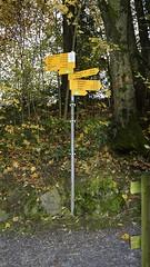 Wanderwegweiser (ponte1112) Tags: geotagged schweiz switzerland nikon suisse che tamron wandern wegweiser luterbach nikonshooter myswitzerland kssnachtamrigi hikinng kantonschwyz d5300 schweizerwanderwege ponte1112 tamron16300mm geo:lat=4709259522 geo:lon=845312370