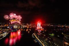 2014 Midnight Fireworks Display Sydney Harbour Bridge and Sydney Harbour (City of Sydney) Tags: fireworks event midnight sydneynye nyesydney nye14 2014sydneynewyearseve