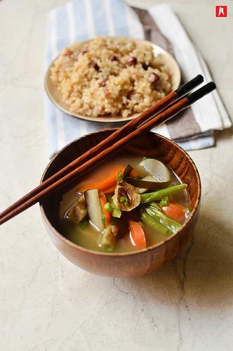 Kenchinjiru - Japanese Zen Buddist Soup