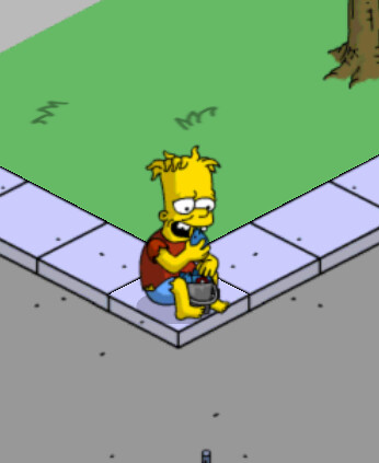 The Simpsons Tapped Out Hugo Fish Heads