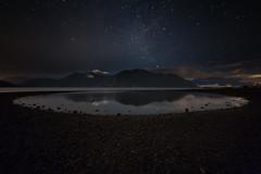 Midnight Mirror (Bun Lee) Tags: park canada pool night coast cove tide low columbia british squamish porteau bunlee bunleephotography