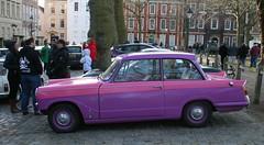 1966 TRIUMPH HERALD 1200 (shagracer) Tags: triumph herald 1200 gdw110d avenue drivers club bristol queen square adc classic car meet breakfast
