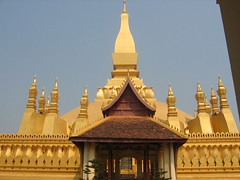 Golden Stupa in Vientiane