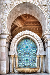Mosque Hassan II Morocco (Adil Tec) Tags: building architecture canon craft mosque arabic morocco maroc casablanca monuments islamic eos1100d