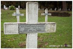 1111_05_une (waloo68) Tags: france cemetery graves alsace ww1 guebwiller mortpourlafrance cimetièremilitaire