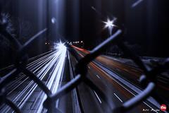 Norfolk Light Trails (Red Weasel Media) Tags: longexposure nightphotography cars night virginia nikon traffic norfolk overpass wideangle headlights noflash interstate lighttrails 14mm rwm samyang magicbullet d7100 kirkallen samyang14mm nikond7100 redweaselmedia