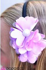 Glimpse of Malibu Purple Headband K2 P6520-1