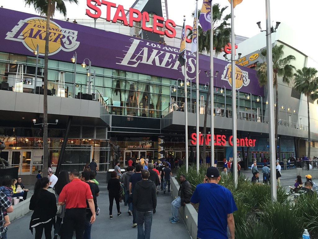 Staples Center by ChrisYunker, on Flickr
