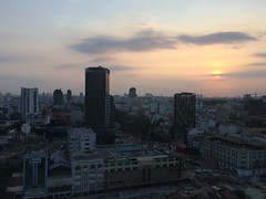 Saigon sunset (goforchris) Tags: holidays cities vietnam hotels saigon hochiminhcity sofitel
