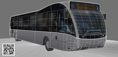 Optare Versa bus long (paperscan) Tags: bus metro group solo saudi versa sr tempo ashok leyland decker arriva metrocity optare hinduja