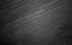 Grained Brick (DustinGinetz.Photography) Tags: street calgary texture film contrast 35mm back perception alley pattern delta line repetition pro 3200 ilford wandering compare assignment3 canoneos3 selfdeveloped canonef1740mmf4l kodakd76 acadphotographictechnology228
