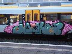 JOKER (mkorsakov) Tags: train graffiti zug bahnhof joker colored hbf bunt münster rb89