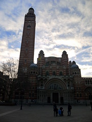 Westminster Cathedral (Worthing Wanderer) Tags: christmas winter london westminster december sunny yearofthebus
