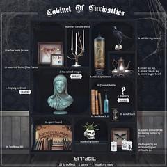 2014 October TAG! Gacha Erratic Cabinet of Curiosities 50 (Gachatopia!) Tags: life key tag second gacha