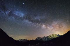 Overhead (@hipydeus) Tags: bayern bavaria nightsky milkyway karwendel milchstrasse sternenhimmel nachthimmel