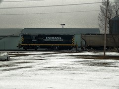 INER 1601 at Edon Ohio (Matt Ditton) Tags: railroad ohio train iner edon