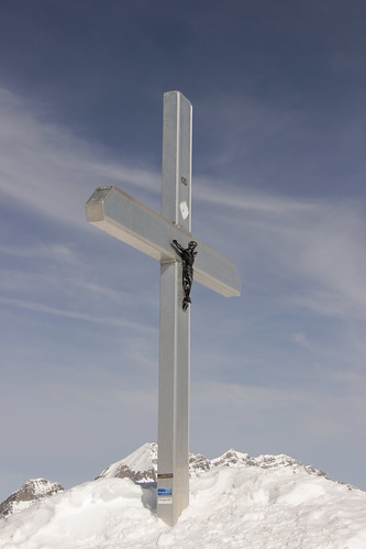 Cross on the Hockenhorn