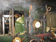 Pressure Rising (Tanllan) Tags: light wales train railway loco peacock steam locomotive pressure gauge narrow llanfair beyer countess welshpool wllr