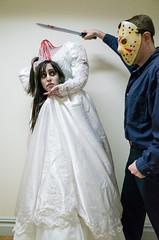(David Chee) Tags: nyc costumes newyork halloween headless bride costume pentax soho gr ricoh