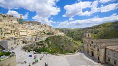 Matera, Basilicata (Stefano Laurita) Tags: italy basilicata landscape city panorama nikon d7000 matera italia sunny skyline architecture mountain sigma 1020