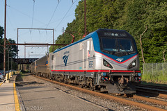 SEPTA Extra with Amtrak ACS-64 659 @ Woodbourne (Dan A. Davis) Tags: septa amtrak marc cabcar train passengertrain acs64 woodbourne station langhorne pennsylvania