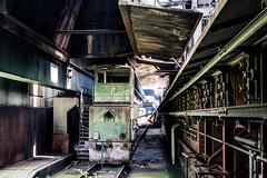 Coal Mine Train (Andreas Mertgens) Tags: essenzechezollvereinsommer industrial coal mine essen zeche