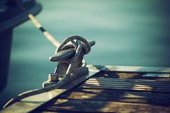 Sailing (Moustafa Kzaiha) Tags: blue light sea summer sun blur vintage germany outdoors wooden focus day sailing sony details rope tamron ilce7