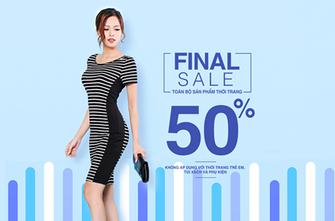 ZEN FASHION - FINAL SALE 50% TOÀN BỘ SẢN PHẨM THỜI TRANG