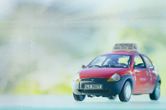 Caution! Learner at large ;o) (Elisafox22 OFF ill at the moment /0\) Tags: elisafox22 sony ilca77m2 100mmf28 macro macrolens telemacro car modelcar scale red scalemodel learner l drivingschool elisaliddell2016