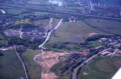 John Ball aerial photo library (Warwickshire Wildlife Trust) (Warwickshire Wildlife Trust) Tags: acoventry1998to2001 coventry coventrycanal geotagged hedgerowwithtrees industrialsomevegetation scrub warwickshire england