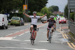 Manchester to Blackpool bike ride 2016 (ThrottleUK) Tags: hospice leigh wigan ride charity blackpool manchester racer bike road red the christie