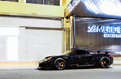 Gemballa MIrage GT (Aimery Dutheil photography) Tags: porsche porschecarreragt carreragt gemballa gemballamiragegt miragegt midnightblue tuning v10 monacograndprix monaco monacocars lifestyle supercar exotic fast speed amazing canon 70d