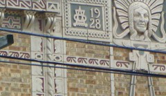 P1080676 (1) (chemtrailchaser) Tags: daytonohio weird bizarre satanic freemasons evil architecture stone brick building