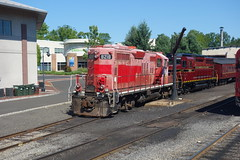 Train Engine (YouTuber) Tags: newhopeandivylandrailroad newhopetrainstation newhope pennsylvania buckscounty