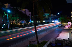 miami at night (CU TEO MD) Tags: colors color lights hotels street night dusk sony a6300 artofimages soe simplysuperb twop ngc cars trees travel vacation