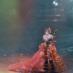 Stage Show (missgeok) Tags: lighting travel female one costume amazing mood colours singing performance indoor entertainment singer cruiseship entertainer stageshow talented extravagant nightshow greatshow colourtones carnivalspirit