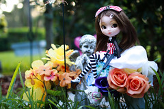 Little Flower (dreamdust2022) Tags: kenzie sweet cute charming loving adorable tender day dreamer shy innocent young high school girl pullip doll