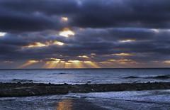 Sunrise in Mar del Plata (luisferrarino) Tags: 2016 ciudades laperla lugares mardelplata luisferrarino landscape nikond7000 amanecer sunrise seascape
