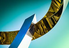 Arc of Creativity (Martin Snicer Photography) Tags: arc art artistic 6d sculpturebythesea sculpturebythesea2015 reflection 50mm curve