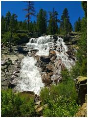 Eagle Falls (tubblesnap) Tags: california park trees lake mountains pine bay waterfall state eagle tahoe falls redwood emerald