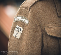 Oxfordshire Home Guard Shoulder Epaulet (Peter Greenway) Tags: ww1plane flywheel bicester vintageplane epaulet vintagecar oxf2epaulet homeguard oxfordshirehomeguard oxf2 flywheelevent classiccar