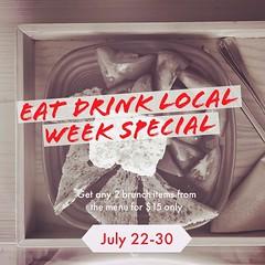 Tag a friend and join us for EDLW & our Worldly Farmer's Brunch menu! #BrooklynSesame Halva gelato toast, and more! July 22-31 #EatDrinkLocalNJ #bucketandbaybrunch More details on our website. #jerseyfresh #jceats #jcmakeityours #jerseycity #hobokeneats # (bucketandbay) Tags: bucketandbay jerseycity gelato