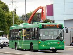 Newport Bus 112 (Welsh Bus 16) Tags: newportbus scania omnicity 112 yt11lup newport