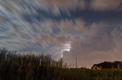 Lighting over Robbinsville (Dan A. Davis) Tags: weather thunderstorm lighting nighttime robbinsville newjersey nj